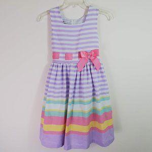 Bonnie Jean Girls Spring Summer Pastel Dress